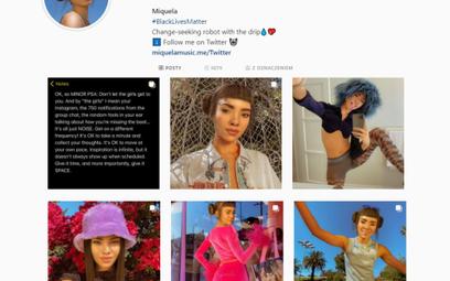Lil Miquela to wirtualna influencerka modowa, która na Instagramie ma ponad 3 mln obserwujących. W 2