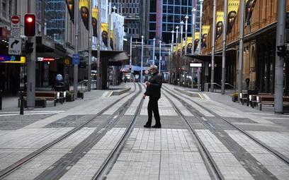 Koronawirus. Lockdown w Australii. Liczba zakażeń rośnie