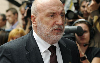 Ustępujący premier Łotwy Ivars Godmanis