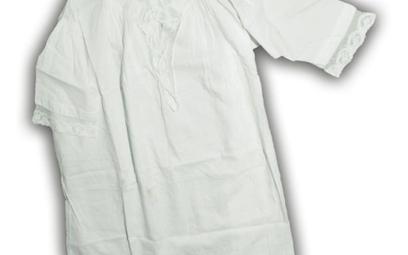 Koszulka, w której ochrzczono Józefa Piłsudskiego