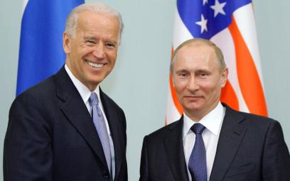 Moskwa, 10 marca 2011 r. Joe Biden był wtedy wiceprezydentem, a Władimir Putin premierem