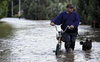 Zdjęcie zrobione podczas poprzedniej powodzi na Słowacji