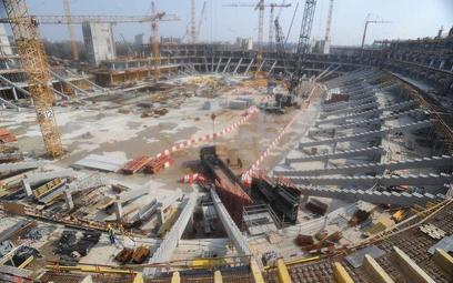 Budowa głównej polskiej areny Euro 2012 - Stadionu Narodowego w Warszawie
