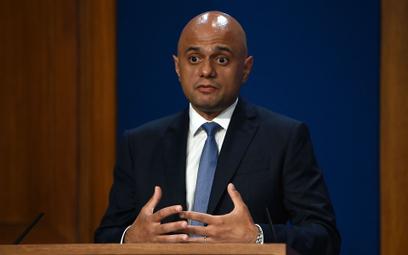 Sajid Javid, minister zdrowia Wielkiej Brytanii