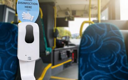 Urządzenia do dezynfekcji rąk zostały już zamontowane we wszystkich pojazdach komunikacji miejskiej