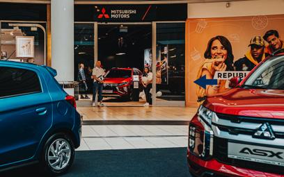 Mitsubishi wchodzi do galerii