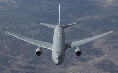 Samolot tankowania powietrznego Boeing KC-46A Pegasus. Fot./USAF.