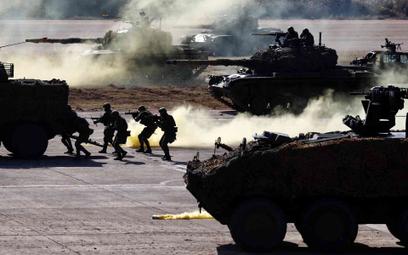 Ćwiczenia żołnierzy tajwańskiej armii