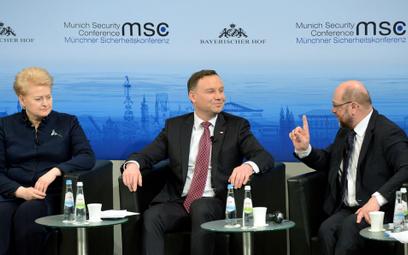 Monachium: debata o bezpieczeństwie z udziałem prezydenta Dudy