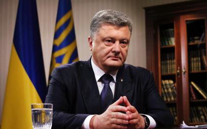 Prezydent Poroszenko uważa, że zawieszenie działania traktatu INF jest szansą dla jego kraju. Fot./B