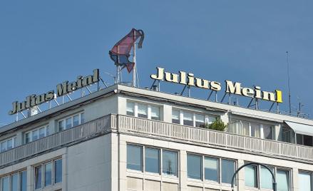 Logo Julius Meinl powstało w latach 20. XX wieku.