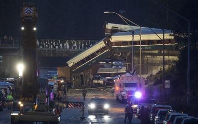 Trzech zabitych w katastrofie kolejowej w USA