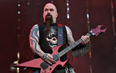 Kerry King obok Toma Arayi zrobił wiele, by wczorajszy koncert grupy Slayer uznać za najlepszy, jaki