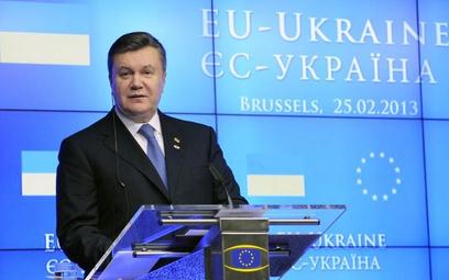 Ukraina wstrzymuje przygotowania do podpisania umowy z UE