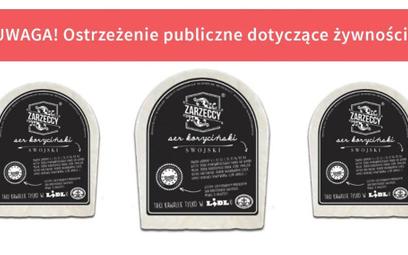 GIS ostrzega przed spożyciem sera korycińskiego z Lidla