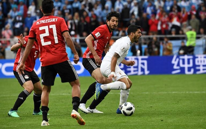 MŚ w Rosji: Egipt wygrał z Urugwajem