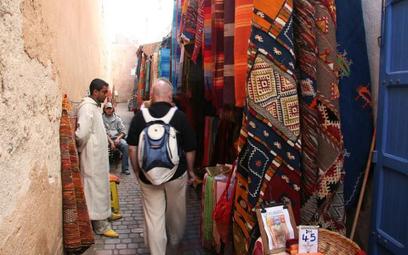 Więcej turystów w Maroku