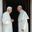 Jak papież z papieżem... Benedykt i Franciszek, Watykan, czerwiec 2015