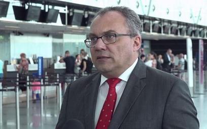 Prezes Portu Lotniczego Wrocław Dariusz Kuś