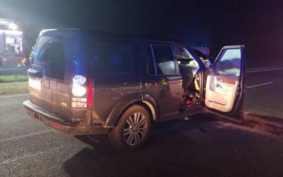 Na A1 pod Łodzią po zderzeniu z łosiem ucierpiały dwie osoby. Zwierzę nie przeżyło.