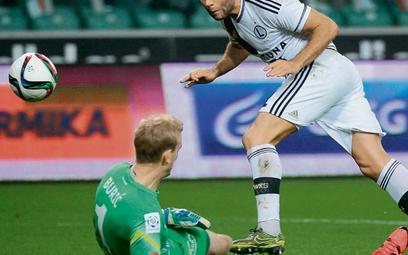 Bramkarz Lecha Jasmin Burić był jednym z bohaterów meczu. Nie pokonał go nawet snajper Legii Nemanja