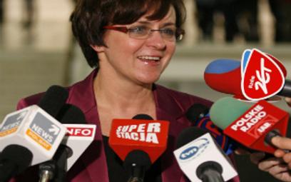 Joanna Kluzik-Rostkowska: do przerwy 0:1