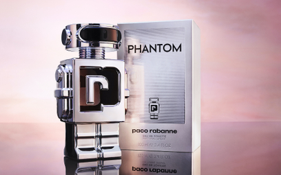 Flakon zapachu Paco Rabanne Phantom przypomina robota.