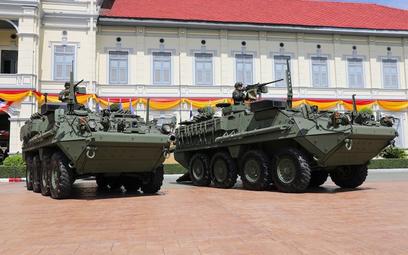 Transporter opancerzony Stryker. Fot. US Army