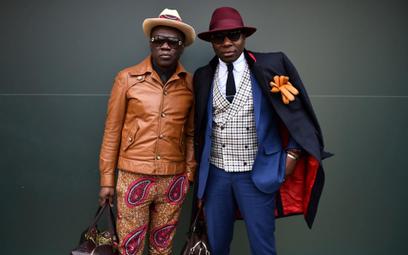 Włochy: Uliczna moda w Mediolanie