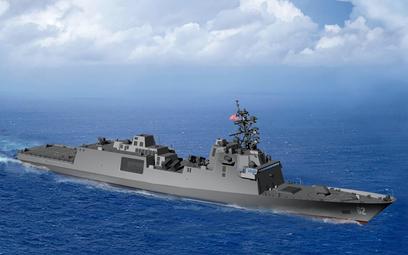 Wizja fregaty FFG(X) według projektu Marinette Marine. Rys./Marinette Marine Corp.