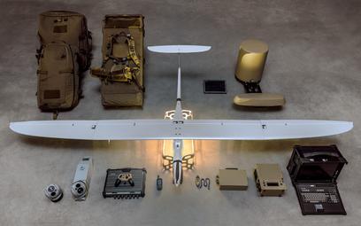 Bezzałogowy zestaw rozpoznawczy z BSP FlyEye. Fot./WB Electronics.