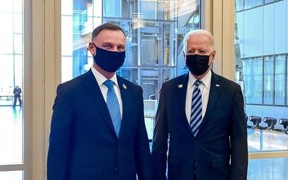 Duda: Biden zna sprawy naszej części Europy. Cieszę się