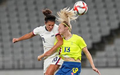Igrzyska w Tokio: Szwedzkie piłkarki rozbiły USA