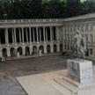 Miniatura Pałacu Saskiego - eksponat warszawskiego Parku Miniatur