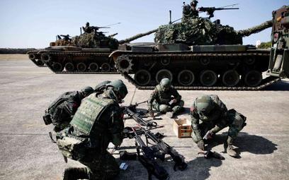 Żołnierze armii Tajwanu