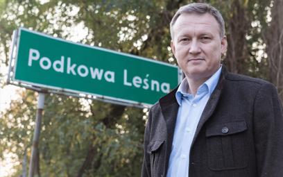 Artur Tusiński, burmistrz Podkowy Leśnej