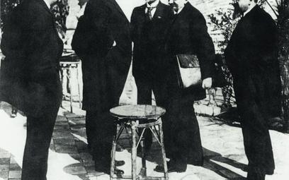 Dyplomaci niemieccy i sowieccy w Rapallo