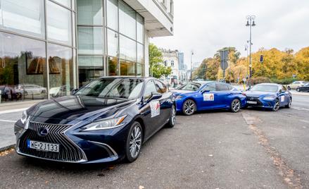 Flota samochodów Lexus wozi uczestników 18. Konkursu Chopinowskiego.