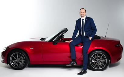 Łukasz Paździor, dyrektor zarządzający Mazda Motor Poland: Idziemy pod prąd