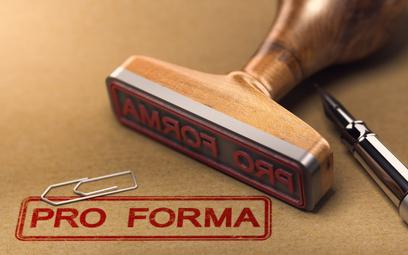 Faktura pro forma a mechanizm podzielonej płatności