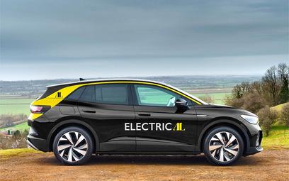 Londyn ma nowe taksówki. To elektryczne VW ID.4