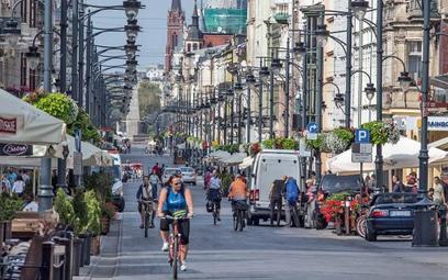 Ulica Piotrkowska w Łodzi ma strategię dalszego rozwoju. Czynsz za najlepsze sklepy wynosi tu 300 eu