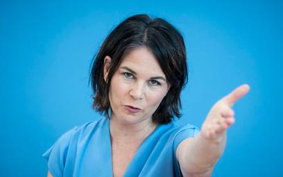 Annalena Baerbock, kandydatka Zielonych na kanclerza