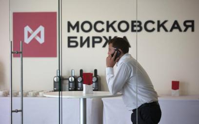 Moskiewska giełda naraziła się