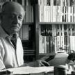Jerzy Giedroyc w Maisons-Laffitte w 1987 r.
