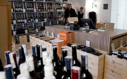 Klienta można poczęstować winem