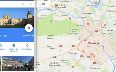 Mapy Google'a z pytaniami od turystów