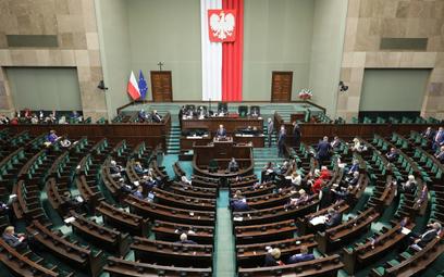 Sejm przyjął specustawę o budowie zapory na granicy z Białorusią