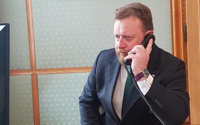 Minister zdrowia dzwonił do Kidawy-Błońskiej ws. koronawirusa