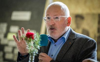 Kto nowym szefem KE? Frans Timmermans nie jest bez szans